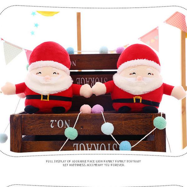 Großhandel Dhl 010 Weihnachten Weihnachtsmann Maschine Baby Puppe Plüschtiere 20 Cm Ornamente Dekoration Für Zuhause Weihnachten Neujahr Kinder