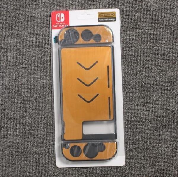Toz Koruyucusu 2 çift Metal Koruyucu Kılıf Cilt kapak için Nintendo Anahtarı JOY Con Denetleyici ve Nintend anahtarı için kılıf üst kalite