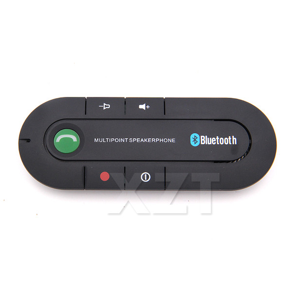 Free Air Mail Car Blutooth Android 2.0 Wireless Handsfree Car Bluetooth Kit Speaker Speakerphone Bluetooth Kit for Any