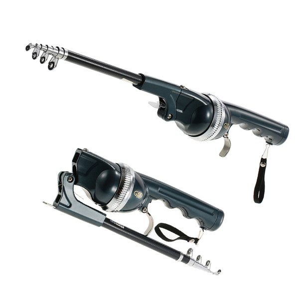spinning 133/158CM Telescopic Mini Fishing Folding Pole Combo Fiberglass Reel Lure Fishing Spinning Rod Fish Tackle Set Line Peace