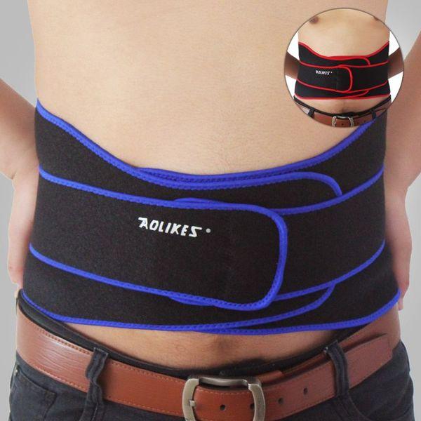 Unisex Einstellbare Professionelle Abnehmen Übung Gürtel Gewicht Rückenstütze Taille Unterstützung Rückenstütze Gürtel