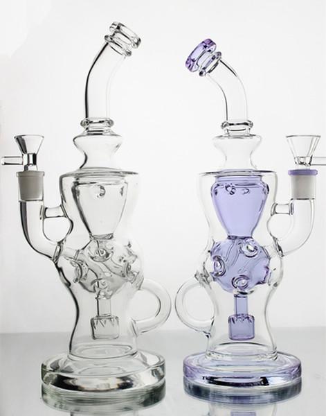 Bong di vetro bong dab rig colorato Tubi di vetro di vetro inebrianti tubi di fumo riciclatori impianti di vendita diretta della fabbrica