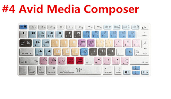 "1PC Avid Media Composer Keyboard Cover Shortcut Printed Cover for MacBook Air Pro Retina 13"" 15"" 17"" iMac Wireless & MacBooks"