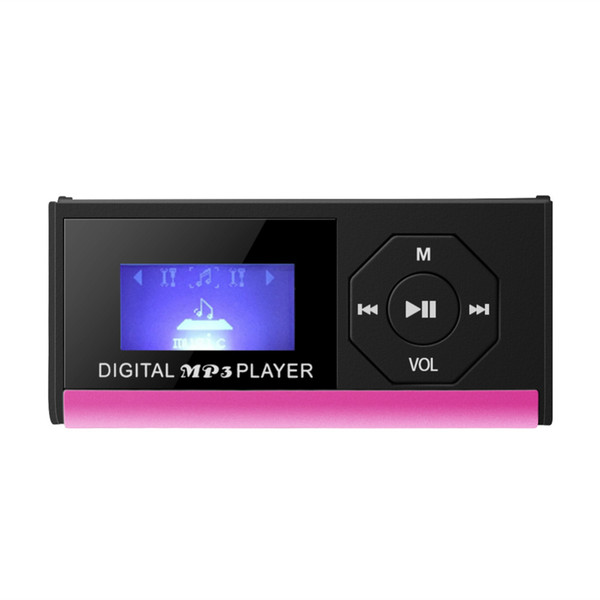 Portable USB Digital MP3 Music Player Support TF Card with Screen Display