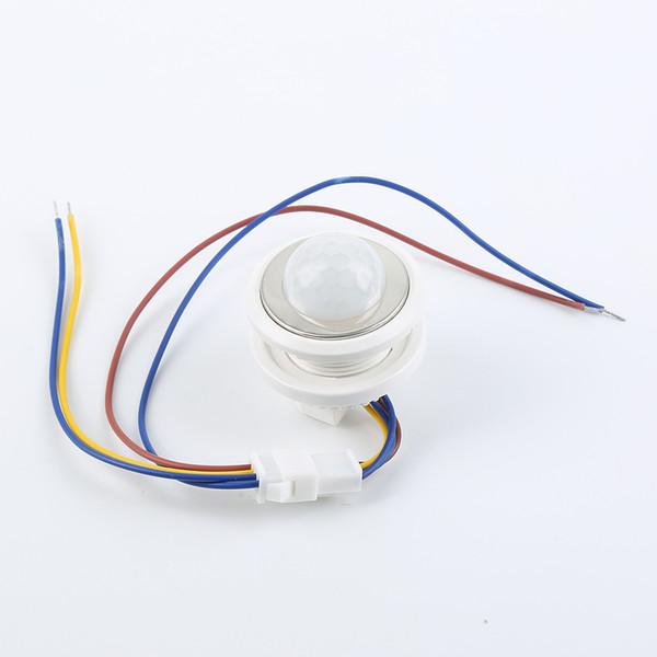 1шт Рэй датчик движения свет лампы смарт-переключатель PIR инфракрасный детектор регулируемая задержка переключения режима автоматизации Умный дом