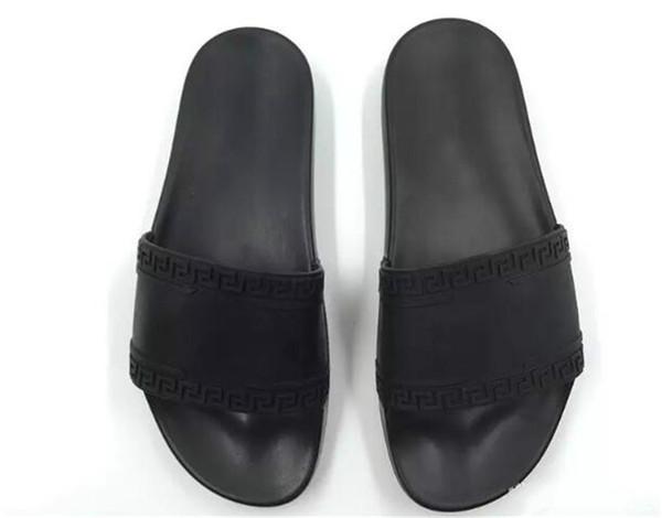 3a8273c717e5e Women\'S Fashion Summer Slipper Designer Breathable Half Loafters Casual  Flat Shoes Ladies Genuine Leather Sandals Sandalias Mujer Medusa Designer  ...
