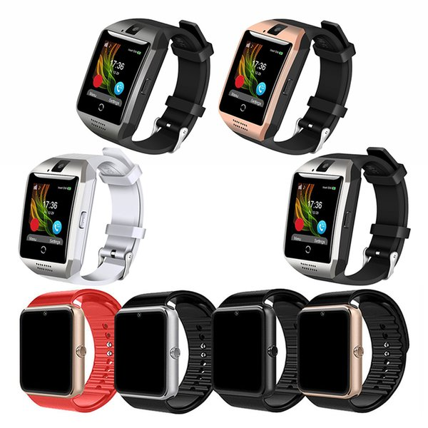 GT08 Q18 NFC Smart Bluetooth Watch Support SIM TF Card With HD Camera For iOS Android Phones Notification Sync Smartwatch