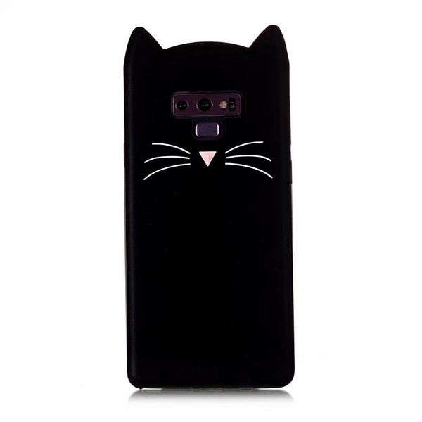 For Galaxy S10 S10e Note 9 8 S9 S8 ( A6 A8 Plus J8 J4 J6 )2018 3D Cat Smile Soft Silicone Cases Cute Cartoon Gel Lovely Colorful Phone Cover