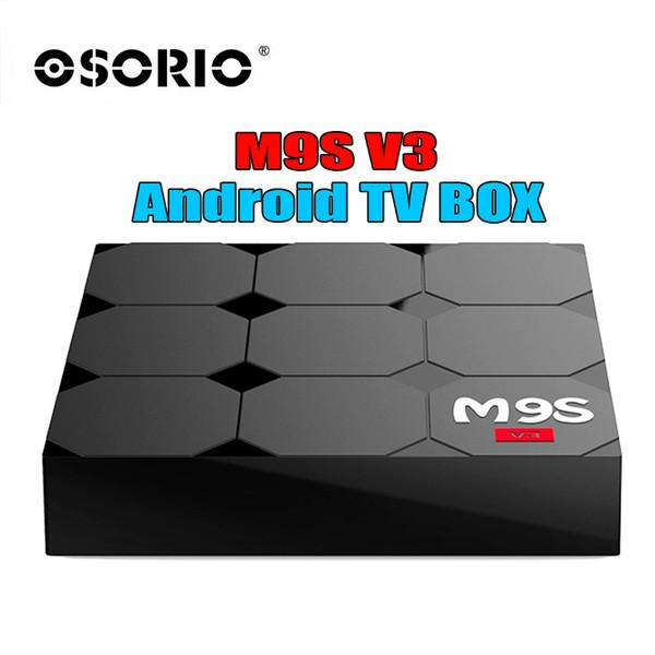 2018 M9S V3 V5 Android TV Boxes Rockchip RK3229 Quad Core 4K wireless WIFI HDMI media player TV OTT set top box Media player Better TX3 MINI