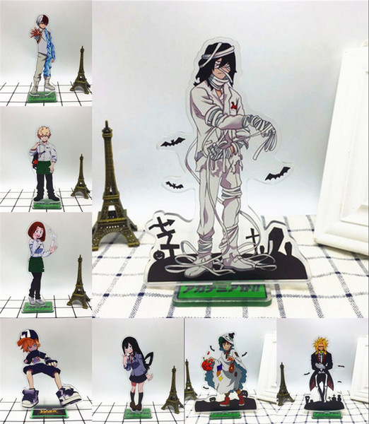 Anime My Hero Academia Shota Aizawa Halloween Acryl Stand Abbildung Schreibtisch Stand Cosplay Acryl Anhänger Weihnachtsgeschenk