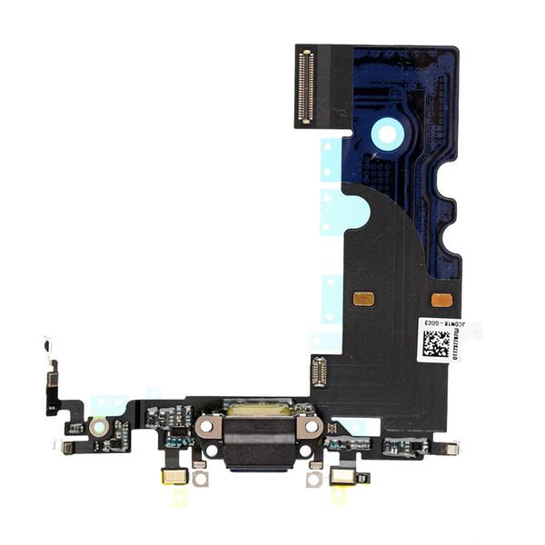 Aufladungsflex für iPhone 8 8g 4.7 '' Ersatzteile Hochwertiges Ladegerät Hafen Dock Mic Kopfhörer Jack Weiß Grau Flex Kabel