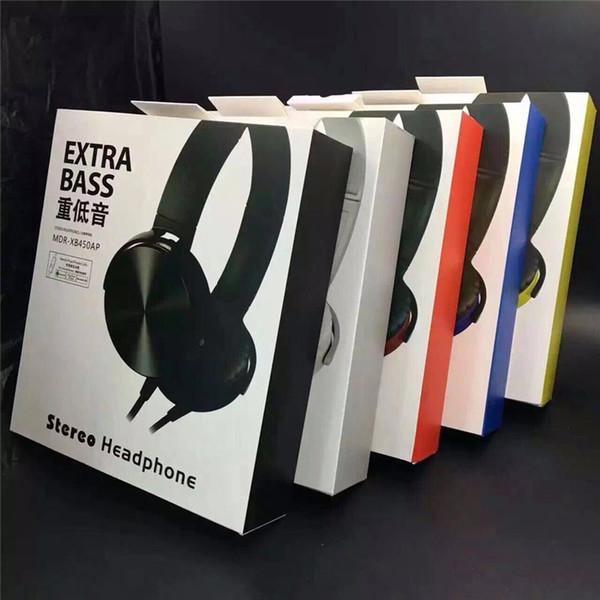 MDR-XB450 Headband Fones De Ouvido Fones De Ouvido Extra Bass Fones De Ouvido Com Fio Fones De Ouvido Estéreo com Micro para Jogos de Bicicleta Sprot Música Celular
