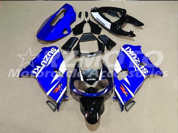 Neue Heiße ABS Kunststoff Motorrad Verkleidung Kits 100% Fit Für suzuki GSXR1000 TLI 1000R1998 19992001 2002 2003 Blau Schwarz F42