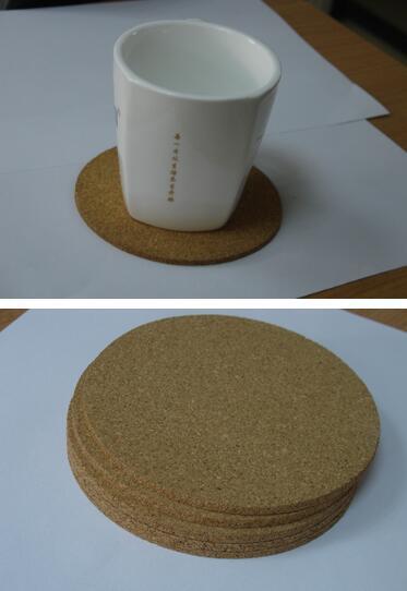 Hot Home Bar Naturkork Coaster Hitzebeständige Tasse Matte Kaffee Tee Trinken tischset Geschirr Küche Dekoration