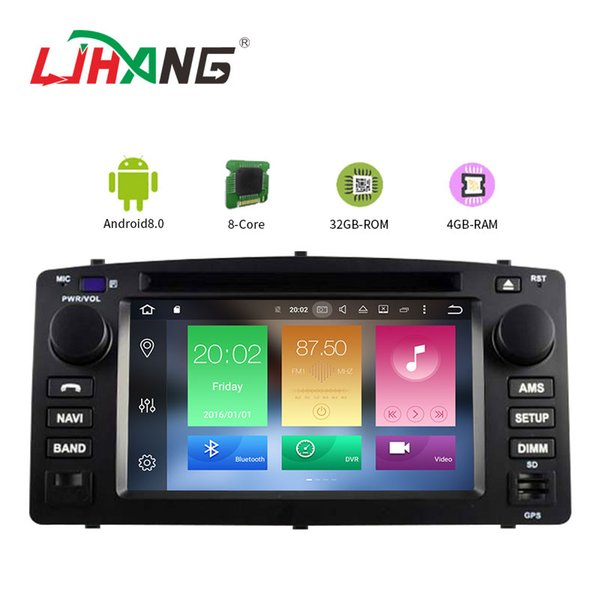 LJHANG RAM 4G Octa Core Android 8.0 Car Multimedia DVD Player For Corolla E120 BYD F3 GPS Navigation Stereo Auto Audio