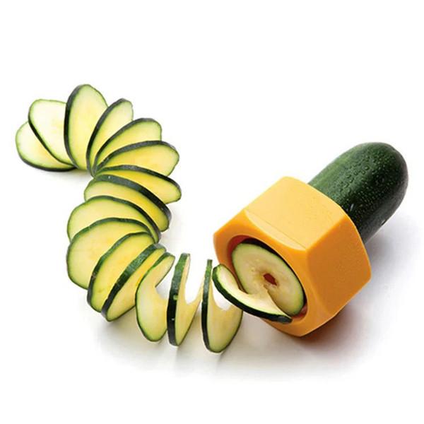 Palmare Verdal Spiralizer Spiral Gadget da cucina Verdure Trituratore Affettatrice Pelapatate Cetriolo Carota Grattugia Accessori Da Cucina B