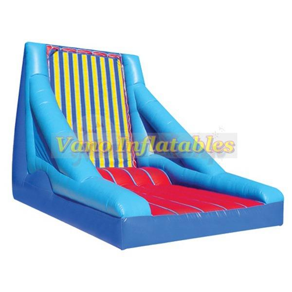 Hook and Loop Jumping Wall Commercial PVC Inflatable Man Sticky Wall Bounce Jumper Sport Games with Blower Free Delivery