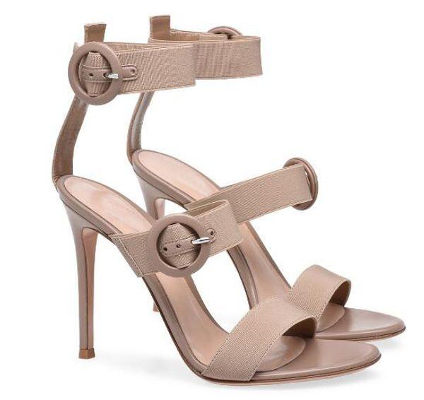 ¡Venta caliente! Mujer rojo / negro / sandalias de tacón abierto dedo del pie abierto Mujer sandalias de tacón alto del talón fino estupendo zapatos de vestir