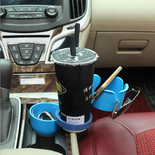 Adjustable 5 in 1 Auto Multi Cup Case Holder Cradles Mounts Multifunction Car Drink Holders Cups Case 5 Colors