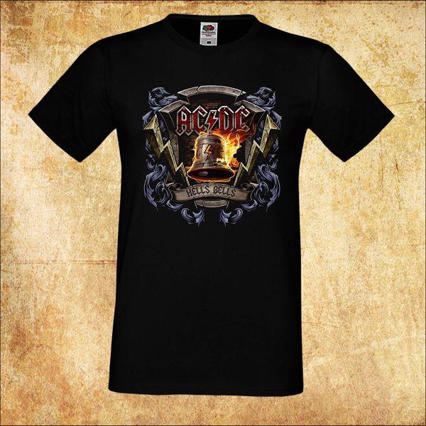 hot sale online 933a1 231cf HERREN/MEN T SHIRT AC DC AC/DC HELLS BELLS 3 ROCK BLACK Men Summer T Shirt  With T Shirt T Shirts Shopping From Lm34tshirt, $12.05| DHgate.Com