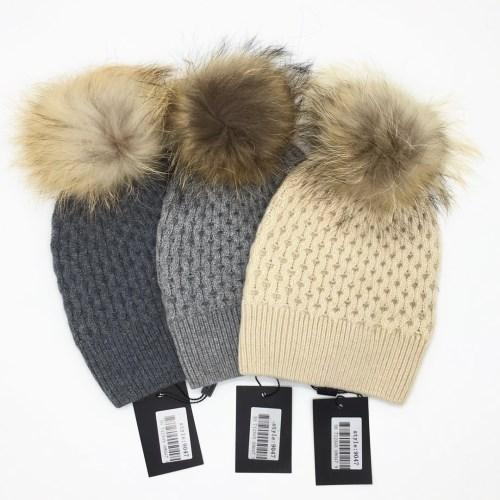 New Autumn and winter Knitting wool good quality 70% wool 30% rabbit hair material free size hat cap for women