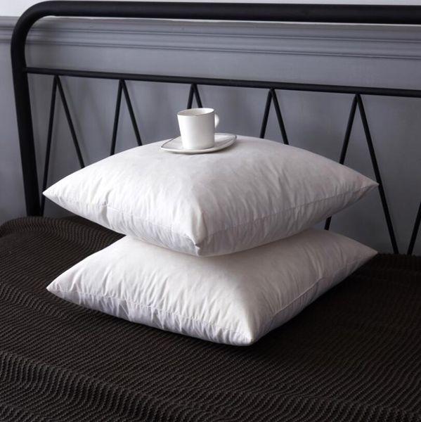 Practical Bedding White Cushion Insert Soft for Car Sofa Chair Down Alternative Throw Pillow Core Inner Seat Cushion Filling