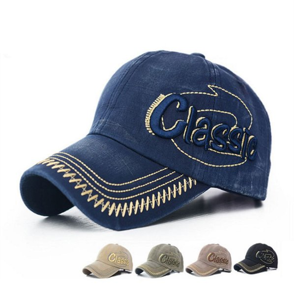 Unisex Kids Adult Size Snapback Flat Blue Peak Hat Casual Baseball Cap Alphabet