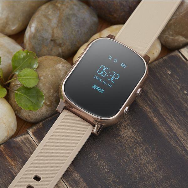 GPS Smartwatch T58 GPS Wristwatch Fashion Watch GPS+WIFI+LSB SOS Call Locate Finder Locator Tracker for KidS/elderly