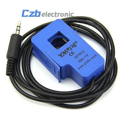 30A SCT-013-030 Nicht-invasiver Wechselstromsensor Split-Core-Stromwandler SCT-013