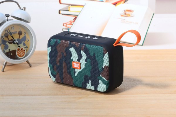 Wireless Bluetooth Speaker Portable Card SoundBox U Disk Fabric Portable Wireless Speakers Gift Mini Mini Audio 6 Colors