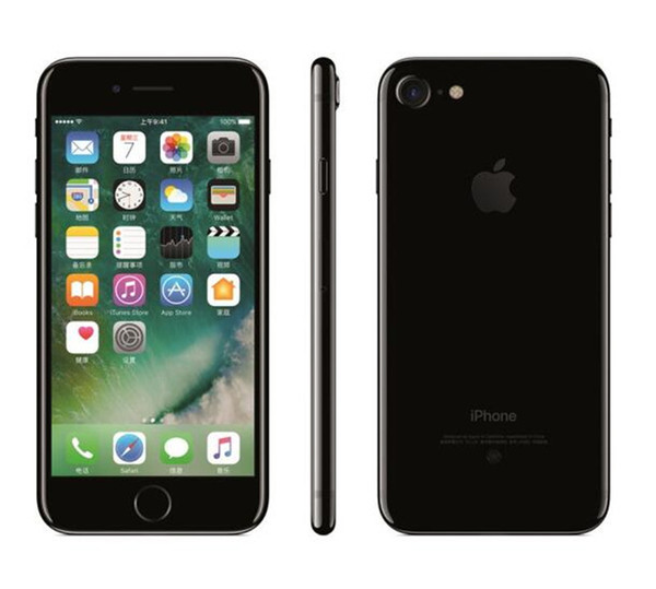 Refurbished Apple iPhone 7 7 PLUS Mobilephone 2RAM 32/128/256GB ROM Quad-Core 4G LTE iPhone7 With Fingerprint Unlocked SmartPhone FREE DHL
