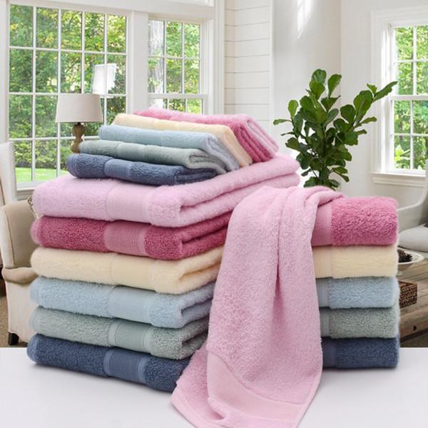 LYNGY 2018 Nuovo 100% fibra di bambù asciugamano set asciugamani da bagno per adulti solido marchio toalhas de telo da spiaggia casa tessile bagno regalo