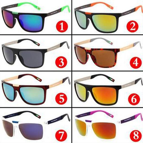 c6b97083e Atacado new moda dos homens e das mulheres clássico óculos de sol ao ar  livre esportes
