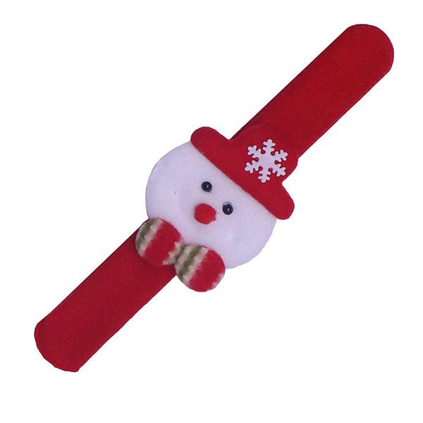Noel Pat Daire Noel Yaşlı Adam Kardan Adam Boynuz Yaratıcı çocuk Oyuncak Bilezik Dekorasyon Bilezik Yenilik Oyunları