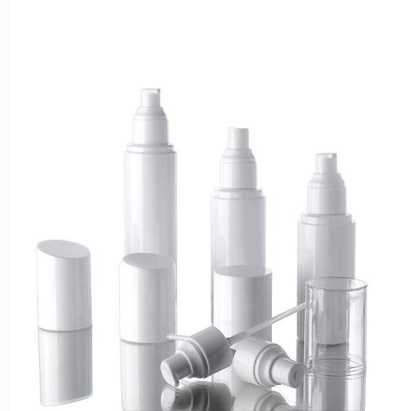 best selling 30ml 50ml 60ml 100ml water bottle spray bottles emulsion bottle PET white plastic Pump bottle packing fast shipping