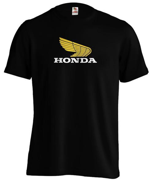 Klassisches Honda Wings Biker Motorrad Motorrad T Shirt T-Shirt Lustiges freies Verschiffen Unisex beiläufiges T-Shirt Geschenk
