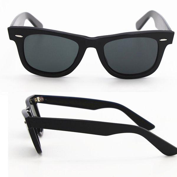1pcs Top Quality Designer Sunglasses brand Plank Big Angle Frame Black UV400 Vintage Mens Sunglasses for Women with case and box