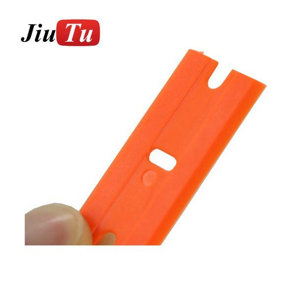 Plastic Razor Blades Car Glue Sticker Remove Razor Scraper Car Vinyl Wrap Film Squeegee Household Cleaning Tools JiuTu