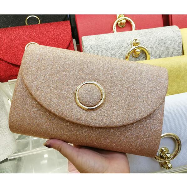 Модный конверт с шампанским Женская желтая красная черная розовая золотая сумка женская банкетная сумка на день клатчи X21
