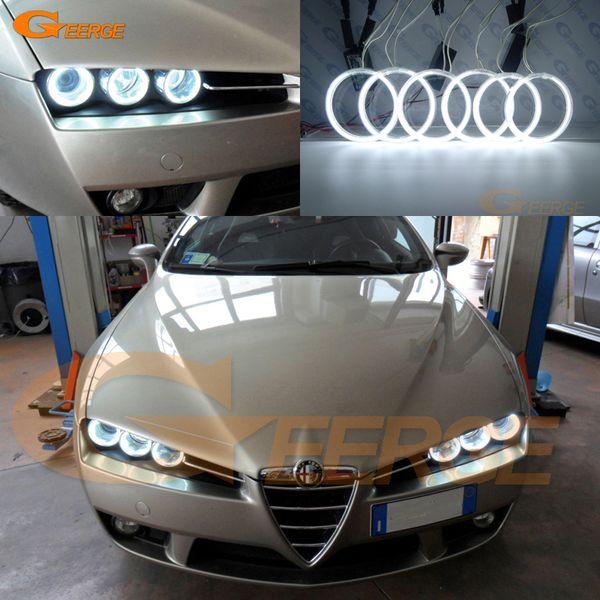 For Alfa Romeo 159 2005 2006 2007 2008 2009 2010 2011 Excellent Ultra bright illumination CCFL Angel Eyes kit Halo Ring