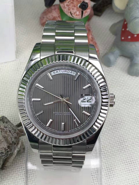 Wholesale Quality fashion Brand 228239 Automatic Movement 41mm Sapphire Mirror Date Display Men's Watch New Listing