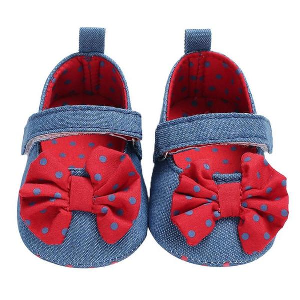 Yaz Bebek Prewalker Yenidoğan Kızlar Ilmek Yumuşak Sticker Kaymaz Ayakkabı