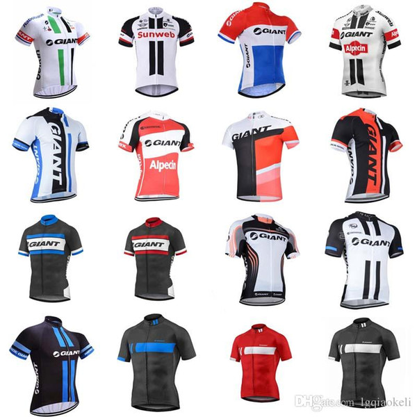 Giant short sleeved cycling summer mountain bike outfit Bike mtb jersey men's sportswear Maillot Ropa Ciclismo F2281, cycling2012, Cycling Shirts & Tops  - buy with discount