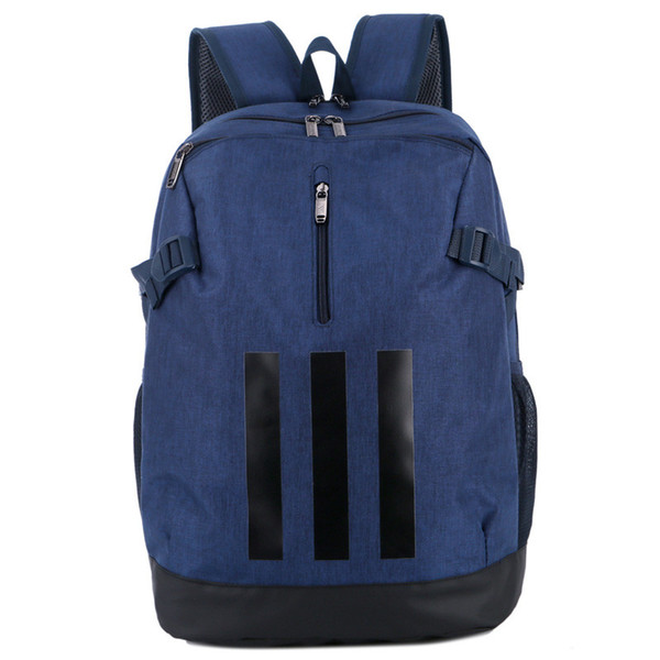New Brand Backpack with 3 Stripes Fashion Tide Backpack Printed Designer School Bag Mens Luxury Sport Style Bags for Women Unisex