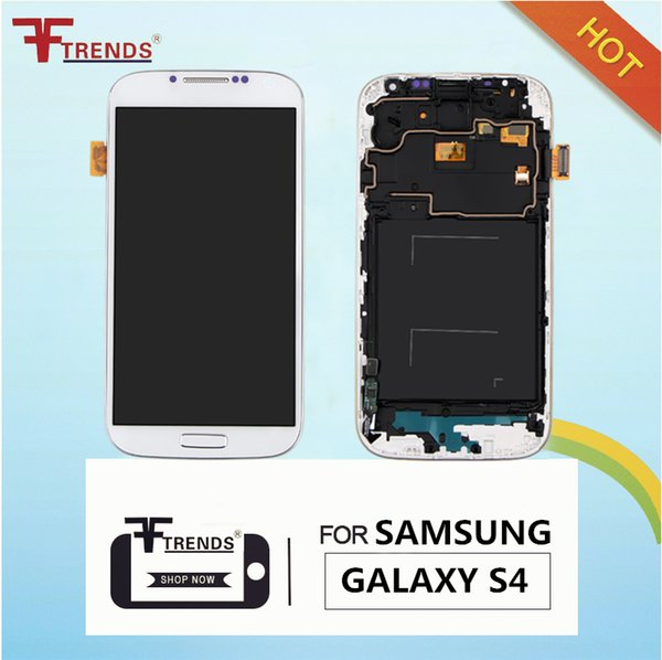 Original LCD Touch Screen & Digitizer Assembly for Samsung Galaxy S4 i9500 i9505 M919 L720 i545 R970 i337 Replacement