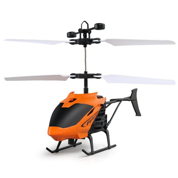 Uçan Mini RC Infraed Indüksiyon Helikopter Uçak Yanıp Sönen Işık Oyuncaklar Çocuklar Için