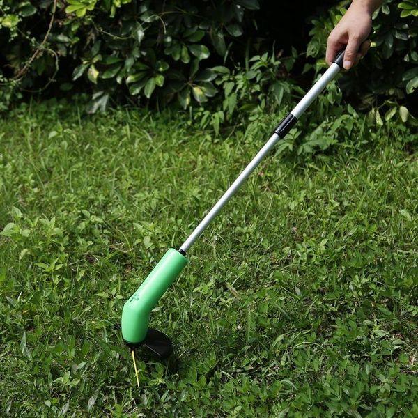 Portable Grass Trimmer Cordless Garden Lawn Edger Cutter Zip Ties Kits Grass Mower Powerfully Courtyard Mowing Pruning Tool