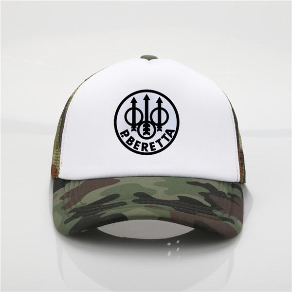Ventilateur militaire Beretta Gun Logo Casquettes de baseball Chapeaux de camionneur