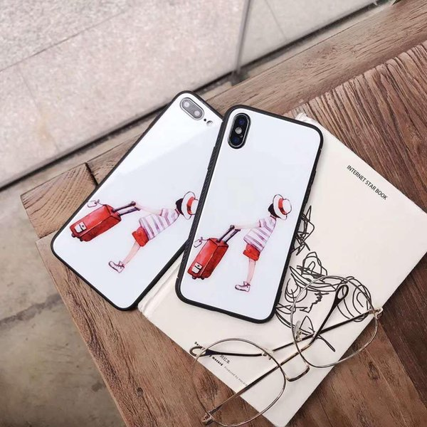 new arrival smart phone case For Apple iPhone Case 6 6s 7 8 Plus Ultra Slim Cover Back New Lovely Cute Design #201 wholesales price