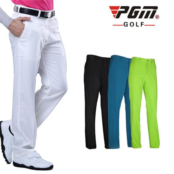 PGM Men's Outdoor Sports Golf Pants Golf Clothes Trousers for Men Quick Dry Breathable Pants for Men 4 Colors XXS-XXXL